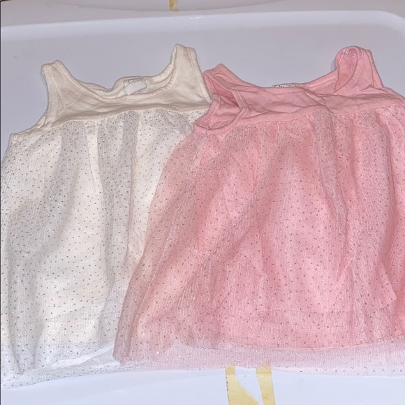 GAP Other - Baby gap glitter tulle tops 18-24 months
